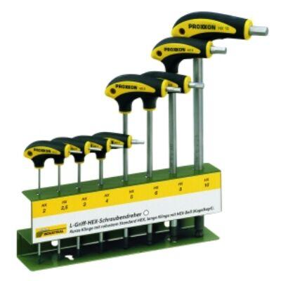 Proxxon 8 részes T-szárú imbuszkulcs készlet 22650