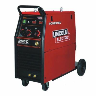 Lincoln powertec 255c fogyóelektródás Mig hegesztőgép 400v