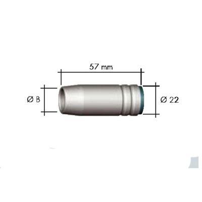 Binzel MB-25 gázterelő 145.0076