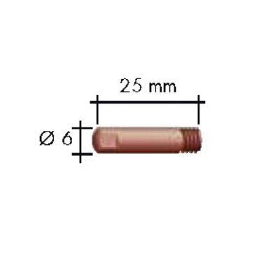 Binzel áramátadó  M6/0,8 vékony Ecu