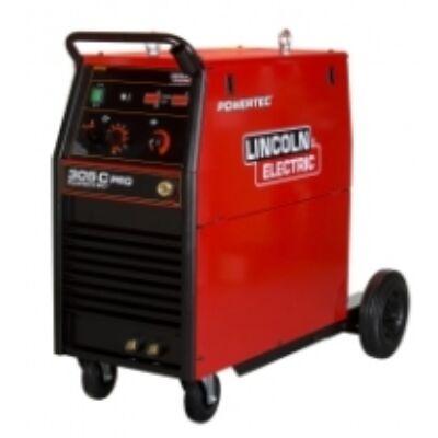Lincoln powertec 305c fogyóelektródás Mig hegesztőgép 400v