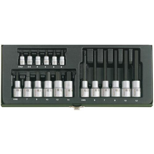 Proxxon 18R 2-6mm imbusz készlet 23100