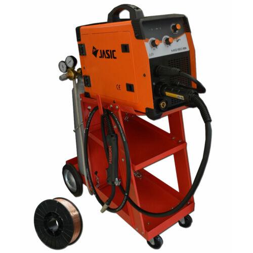 Jasic MIG 180 (N240) inverteres hegesztőgép csomagban 10Kg CO2 palackkal